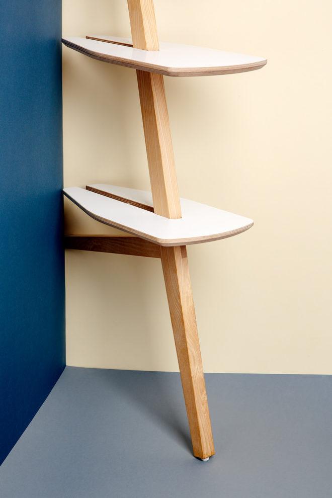 Shelves by stückwerk individually and custom-made